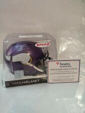 Stefon Diggs Signed Minnesota Vikings Speed Mini Helmet Fanatics Bills