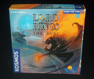 Rio Grande Games Lord Of The Rings The Duel Strategy Board Game Complete