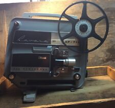 Vintage Revere Projector 8mm Ap-718 With Operating Instructions