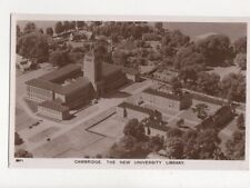 Cambridge New University Library Vintage Aerial RP Postcard 729a