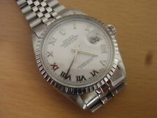 Rolex Oyster Perpetual Datejust In All S/Steel Near Mint Condition