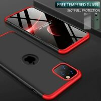 360 Case for iPhone 11 Cover XS MAX Xr-x-8/7/6s/6-plus 11-Pro Tempered-Glass