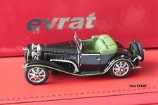 BUGATTI T55 cabriolet Billeter & Cartier #55206 1/43 EVRAT limit. 90 ex EVR206