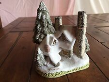 David Winter Cottages SNOW COTTAGE By John Hine 1984