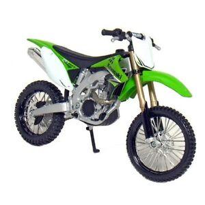 MAISTO 1:12 Kawasaki KX 450F GREEN MOTORCYCLE BIKE DIECAST MODEL Toy New IN BOX