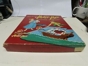 Vintage1952 Whitman#5617 Walt DISNEY'S 'PETER PAN' PICTURE PUZZLES. Lot of 6
