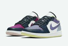 Nike Mujeres Air Jordan 1 Low se Zapatos Magenta Púrpura Azul DJ4342-400 W Talla 6-11