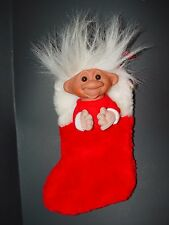 "9"" Dam Santa Christmas Stocking"