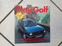 Play Golf - alte Musik Single(Flexi) kam damals als Werbung zum Golf 1983 raus