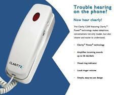 Amplified Telephone, Loud 26dB Visual Ringer, Lighted Keypad, Hearing Assistance