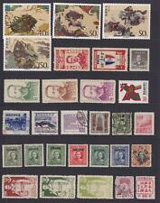 CHINA INTERESTING OLD MINT AND USED COLLECTION REMOVED FROM STOCK SHEET - W587