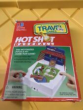 Milton Bradley Hot Shot Baseball Travel Games 1994 Tested Works