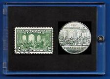 1867  Canada Fathers of Confederation Stamp and Coin Set