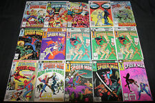 PETER PARKER/ SPECTACULAR SPIDERMAN COMIC LOT 112PC (F-VF)