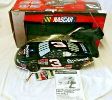 """NASCAR Road Champs Dale Earnhardt 1:10 Scale RC Racing Car. Shell 18""""×8"""""""