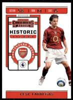 2019-20 Chronicles Soccer Contenders Historic Rookie Ticket HT-CSC Cesc Fabregas
