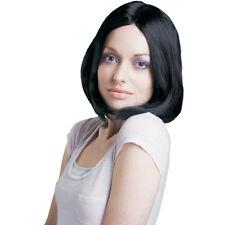 À la mode droite perruque noire par Dress Up America