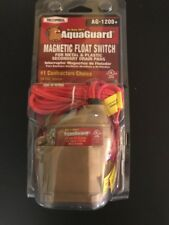 AquaGuard Magnetic Float Switch System for Metal Secondary Drain Pan.  AH