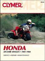 1981-1984 Honda ATC250 Trike ATV CLYMER REPAIR MANUAL M342