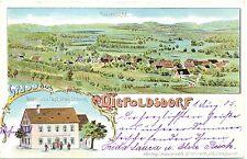 "Diepoldsdorf, Farb-Litho m. Gasthaus ""Zur Post"", 1905"