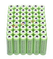 48x AA 3000mAh 1.2 V Ni-MH rechargeable battery Green Color cell MP3 RC Toys