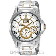 ** nuevo ** Seiko Premier Kinetic Perpetual Reloj De Oro-snp022p1-RRP £ 595