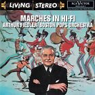 ARTHUR FIEDLER - BOSTON POPS ORCHESTRA : MARCHES IN HI-FI / CD (RCA VICTOR/BMG)