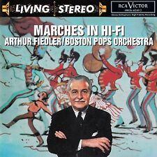 ARTHUR FIEDLER - BOSTON POPS ORCHESTRA : MARCHES IN HI-FI / CD (RCA VICTOR/BMG)