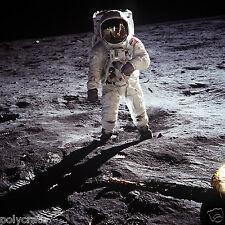 Photo Nasa - Apollo 11 Buzz Aldrin sur la lune - Conquête spatiale