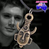 Supernatural Dean Winchester Protection Amulet Pendant Necklace