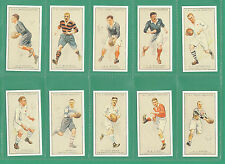 RUGBY - 20  SETS  OF 25 SMITH ' PROMINENT  RUGBY  PLAYERS ' CARDS - REPRINTS