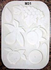 SFA #605 Fruit and Leaf Appliques Ceramic Mold (M31)