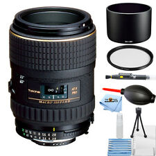 Tokina 100mm f/2.8 AT-X M100 AF Pro D Macro Autofocus Lens for Nikon STARTER KIT