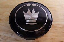 1 Konig Custom Wheel Center Cap L018R Black Finish Caps New Rim Retrack Single