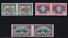 S. Africa Scott #B9-B11 Pairs VF OG mint previously hinged cv $ 50 ! see pic !