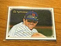 2007 UD Masterpieces Baseball Base Card #70 - David Wright - New York Mets