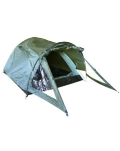 Kombat UK Elite Tent - Olive Green (2 Person, Twin Skin)  Military Army Style