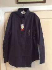 NWT new mens dress shirt ROUNDTREE & YORKE black size medium