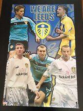 1999 We Are Leeds Collage Original Starline Poster OOP