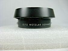Leitz Wetzler (Leica) Metal Lens Hood 12585, for 35mm/50mm f/2/2.8/3.5, Germany