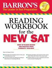 Barron's Reading Workbook for the NEW SAT Critical Reading Workbook for the Sat