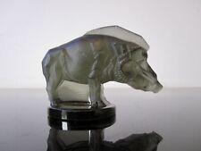 René Lalique : Mascotte automobile sanglier art déco. R Lalique car mascot
