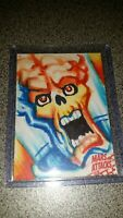 2015 Topps Mars Attacks Occupation Kickstarter sketch card 1/1 Jeff Zapata