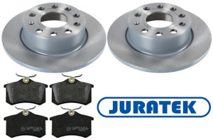 For Volkswagen VW - Caddy 1.9 TDi 2.0 SDi 2004-2010 Rear Brake Discs and Pads