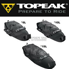 Topeak Backloader Gear Camping Bag Rear Saddle Bike Packing Roll Top Choose Size