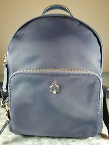 New Kate Spade Taylor Small Backpack - Navy Blue