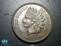 1908 Indian Head Cent Penny  --  MAKE US AN OFFER!  #B2681