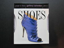 2011 SHOES page-a-day Gallery Calendar complete; unopened--NEW!