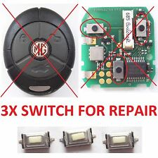 micro switch repair remote key fob MG ROVER 25 45 75 ZT ZR TF ZS Montego