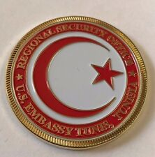 DOS DSS Diplomatic Security Service Reg Security Office AMEMB Tunis, Tunisia